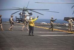 USA. Śmigłowiec marynarki wojennej runął do morza
