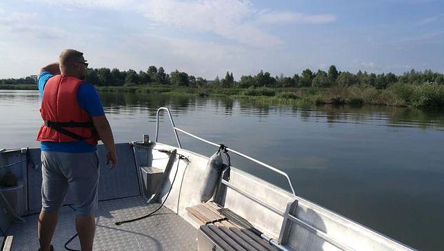 Mężczyzna wypadł z jachtu na Jeziorze Nyskim. Trwają jego poszukiwania