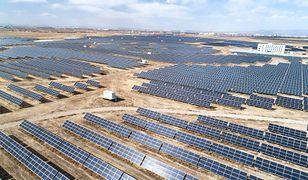 Farma słoneczna w Chinach