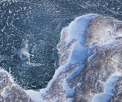 Roztapiający się lód arktyczny