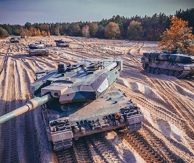 Czołgi Leopard 2PL wzięły udział w ćwiczeniach