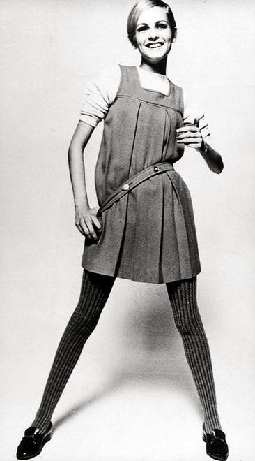 Twiggy - wszystkie kobiety chciały być tak chude, jak ona