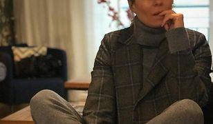 Małgorzata i jej jesienna stylizacja.