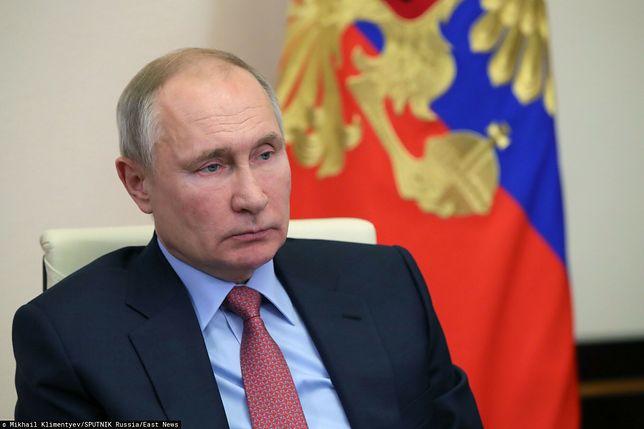 USA. Biały Dom zapowiada działania wobec Rosji. Na zdjęciu Władimir Putin
