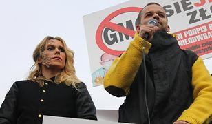 Doda i Piróg przeciw GMO w Warszawie (zdjęcia i wideo)