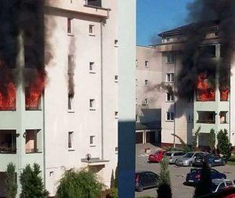 """Spłonęło im całe mieszkanie. Sąsiedzi zorganizowali zbiórkę pieniędzy: """"każdy może znaleźć się w takiej sytuacji"""""""