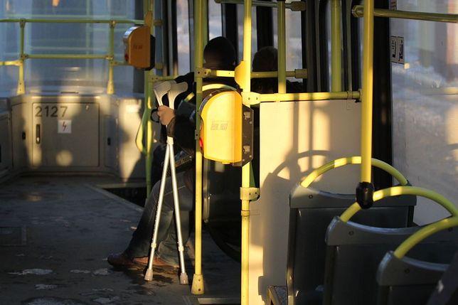 Czołowe zderzenie tramwajów w Centrum. Dwie osoby ranne