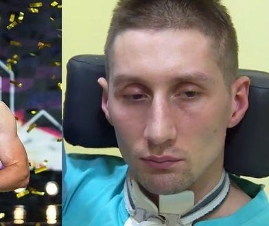 """Patryk Niekłań po wypadku przebywa w klinice """"Budzik"""" dla dorosłych."""