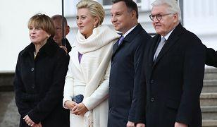 Agata i Andrzej Dudowie w Berlinie