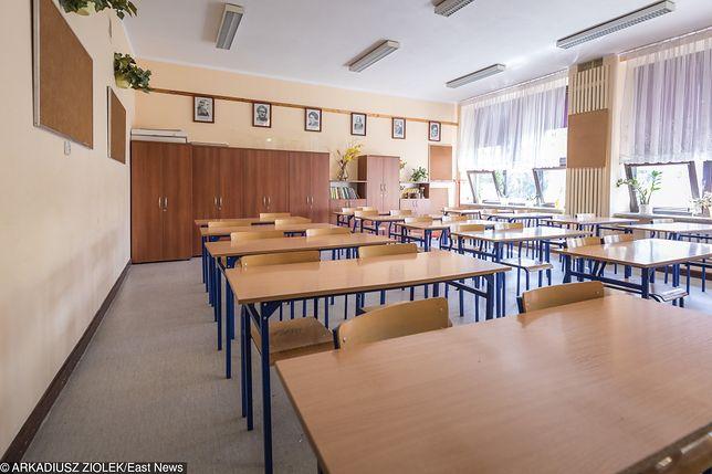 Do wykorzystania uczennicy miało dojść w kantorku przy sali lekcyjnej
