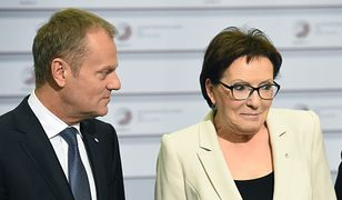 Ewa Kopacz zapewnia, że Donald Tusk dzwoni do swoich dawnych kolegów z PO