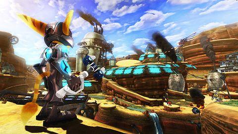 20 października będziemy mogli przedpremierowo zagrać w EyePeta, Invizimals i nowego Ratcheta!