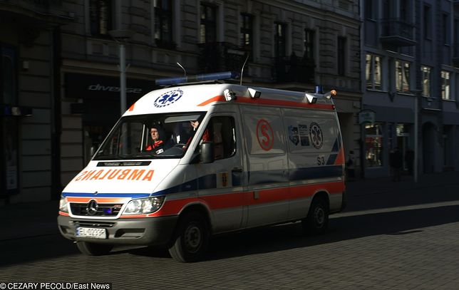 Łódź. Pracownik urzędu wypadł z siódmego piętra