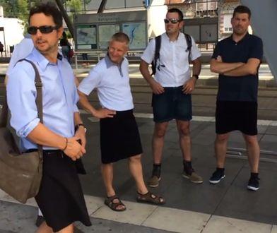 Założyli spódnice, by zaprotestować. Wcale nie mają wielkich wymagań