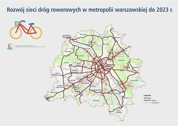 Będzie więcej tras rowerowych. Aż 330 km