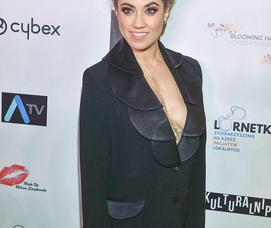 Maja Hyży była gwiazdą podczas pokazu mody