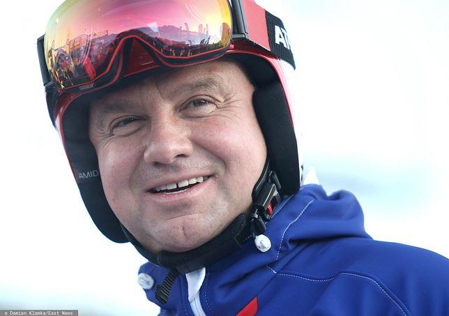 Ferie zimowe 2021. Andrzej Duda nie pojeździ na nartach? Górale nie chcą go Podhalu