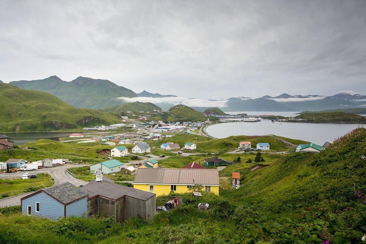 Unalaska to główne miasto archipelagu Aleuty