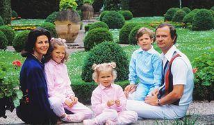 Rodzinne zdjęcie szwedzkiej rodziny królewskiej