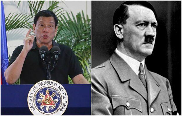 Prezydent Filipin porównał się do Hitlera. Chce zabić 3 miliony przestępców