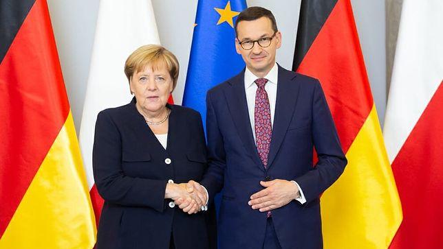 Mateusz Morawiecki i Angela Merkel rozmawiali o stanowiskach w KE