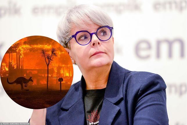 Australia płonie. Karolina Korwin Piotrowska pokazała wymowne zdjęcie