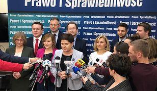 Prezentacja kandydatów PiS-u do eurowyborów. Kraków 20 marca 2019