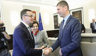 Mateusz Morawiecki i Dariusz Piontkowski