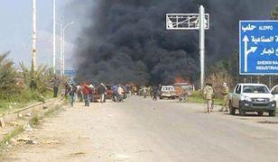 Syria. Wiele ofiar zamachu na konwój