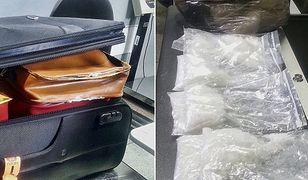 Narkotyki trzymał w damskich torebkach. 4 kilogramy metamfetaminy