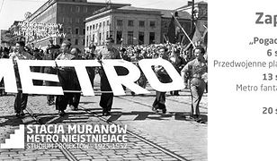 Za darmo: cykl dyskusji o historii warszawskiego metra
