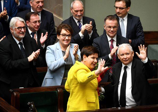 Sondaż: Już 14 proc. przewagi PiS nad Koalicją Europejską