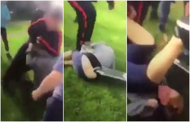 12-latek brutalnie pobity własną hulajnogą za to, że... jest rudy