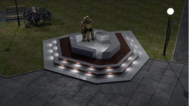W zamian za poparcie budowy pomnika Lecha i Marii Kaczyńskich, radni PiS zrezygnowali z koncepcji przedstawionej przez ich koleżankę Małgorzatę Suchanowską
