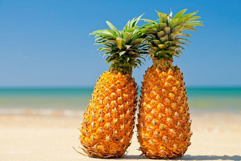 Ananas - jak wybrać dojrzały owoc