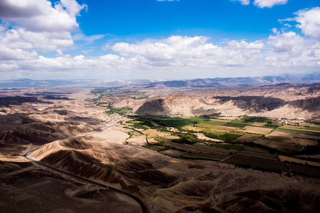 Dolina Nazca, Peru