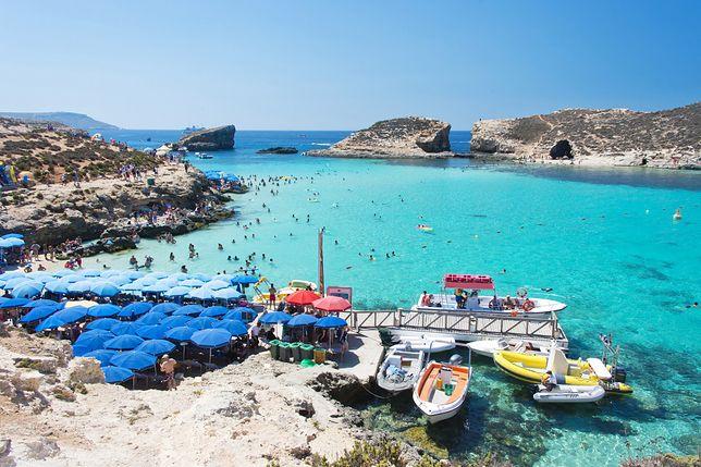 Błękitna Laguna na Malcie
