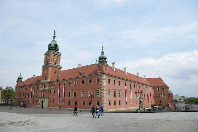 Koronawirus w Warszawie. Zamek Królewski otwarty dla zwiedzających