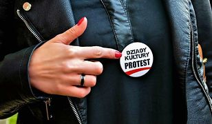 """Muzealnicy z Małopolski protestują - """"Dziady Kultury"""" chcą podwyżek"""