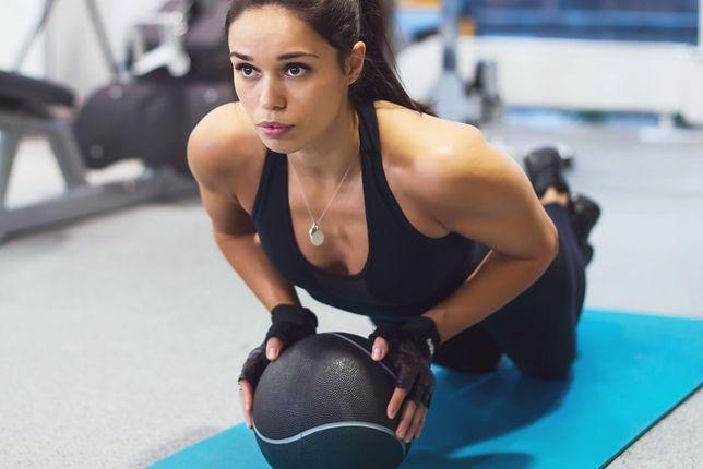 Orgazm podczas treningu jest możliwy.