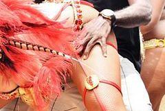 Rihanna balowała na Barbados - przesadziła?