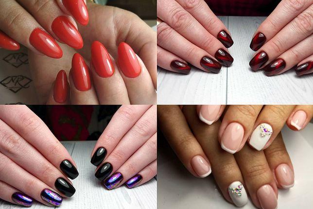 Manicure żelowy to stosunkowo niedroga metoda zdobienia paznokci (fot. andsoforthfashionblog, maryamnails_21, nailkaterina)