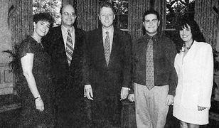 Monica Lewinsky i Bill Clinton poznali się w 1995 roku
