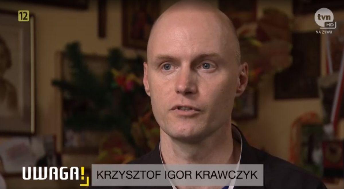 Krzysztof Igor Krawczyk po śmierci ojca znowu usiadł przed kamerą