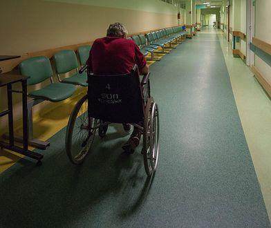 Niektórzy pacjenci są zupełnie sami