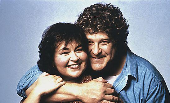 """Roseanne Barr i John Goodman serial """"Roseanne"""""""