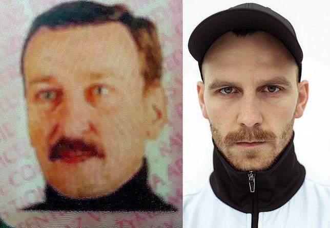 """Adam Bigaj (z lewej) i grający w filmie """"25 lat niewinności"""" aktor Julian Świeżewski"""