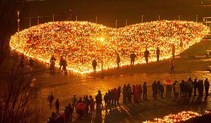 Największe Serce Świata w hołdzie dla zamordowanego prezydenta Gdańska Pawła Adamowicza