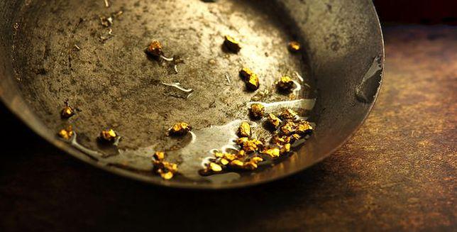 Złoto wydobywane jest nawet w Polsce - zobacz, jak to się robi