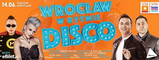 """""""Wrocław w rytmie disco"""" już 14 czerwca! Będzie się działo!"""
